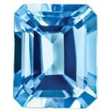 Blue Topaz 5X3mm Emerald Cut Gemstone, MPN: BT-0503-OCE-AA