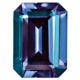 Created Alexandrite 5X3mm Emerald Cut Gemstone, MPN: CA-0503-OCE