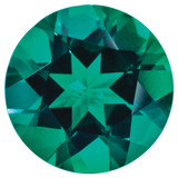 Created Emerald 1.25mm Round Gemstone, MPN: CE-0125-RDF