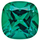 Created Emerald 5mm Sq Cush Gemstone, MPN: CE-0500-CUF