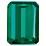 Created Emerald 5X3mm Emerald Cut Gemstone, MPN: CE-0503-OCE