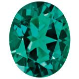 Created Emerald 5X3mm Oval Gemstone, MPN: CE-0503-OVF