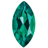 Created Emerald 6X3mm Marquise Gemstone, MPN: CE-0603-MQF