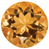 Citrine 2mm Round Gemstone, MPN: CI-0200-RDF-AA