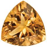 Citrine 4mm Trillion Gemstone, MPN: CI-0400-TRF-AA