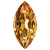 Citrine 4X2mm Marquise Gemstone, MPN: CI-0402-MQF-AA