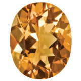 Citrine 4X3mm Oval Gemstone, MPN: CI-0403-OVF-AA