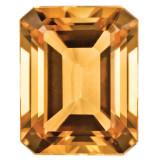 Citrine 5X3mm Emerald Cut Gemstone, MPN: CI-0503-OCE-AA