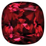 Created Ruby 5mm Sq Cush Gemstone, MPN: CR-0500-CUF