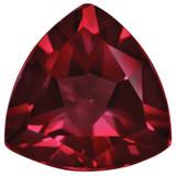 Created Ruby 5mm Trillion Gemstone, MPN: CR-0500-TRF