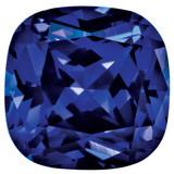 Created Sapphire Blue 5mm Sq Cush Gemstone, MPN: CS-0500-CUF-BL