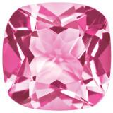 Created Sapphire Pink 5mm Sq Cush Gemstone, MPN: CS-0500-CUF-PK