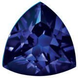 Created Sapphire Blue 5mm Trillion Gemstone, MPN: CS-0500-TRF-BL
