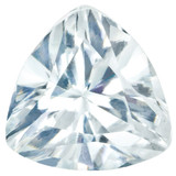 Cubic Zirconia White 3mm Trillion Gemstone, MPN: CZ-0300-TRF-WH-A