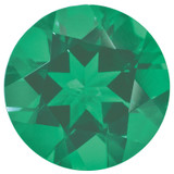 Emerald 1.25mm Round  Gemstone, MPN: EM-0125-RDF-A