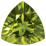 Peridot 4mm Trillion Gemstone, MPN: PE-0400-TRF-AA