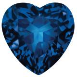 Sapphire Blue 3mm Heart Faceted Gemstone, MPN: SA-0300-HTF-BL-AA