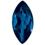 Sapphire Blue 4X2mm Marquise Gemstone, MPN: SA-0402-MQF-BL-AA