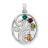 14K White Gold Genuine Pendant Family, MPN: WM1440-5GY