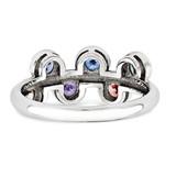 14K White Gold Genuine Ring Family WM1441-6GY