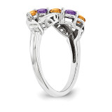 14k White Gold Diamond Ring Family WM1446-5AAA