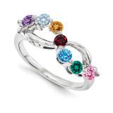 14k White Gold Diamond Ring Family, MPN: WM1446-7AAA