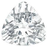 White Topaz 4mm Trillion Gemstone, MPN: WT-0400-TRF-AA