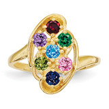14k Yellow Gold Ring Family & Mother MPN: XMR3/7GY, UPC: 883957160078