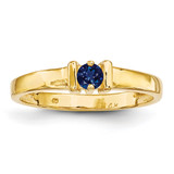 1 Stone Mother's Ring 14k Yellow Gold Genuine MPN: XMR6/1GY, UPC: 191101539053