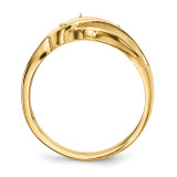 14k Yellow Gold Genuine Ring Family & Mother XMR66/3GY