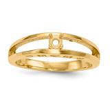14k Yellow Gold Ring Mounting Family & Mother MPN: XMR71/1-7, UPC: 191101539916