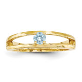 14k Yellow Gold 3mm Genuine Ring Family & Mother MPN: XMR71/1GY, UPC: 191101539923