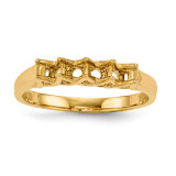 Mothers & Family 14k Yellow Gold Ring Mounting MPN: XMR83/4-7, UPC: 191101540387