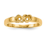 Mothers & Family 14k Yellow Gold Ring Mounting MPN: XMR85/2-7, UPC: 191101540523