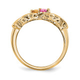 14k Yellow Gold Diamond Ring Ring Family YM1446-2AA