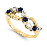 14k Yellow Gold Diamond Ring Ring Family, MPN: YM1446-8AA
