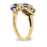 14k Yellow Gold Diamond Ring Ring Family YM1446-8AA
