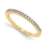 Wedding Set Mounting Ring Band Prong Set Round 14k Yellow Gold Diamond, MPN: YM868-1AA