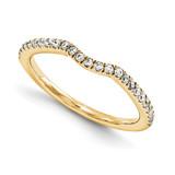 Wedding Set Mounting Ring Band Prong Set Round 14k Yellow Gold Diamond, MPN: YM874-1AA
