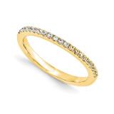 Halo Wedding Set Mounting Ring Band Prong Set Round 14k Yellow Gold Diamond, MPN: YM878-1AA