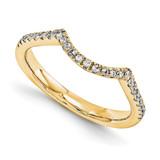 Wedding Set Mounting Ring Band Peg Set 14k Yellow Gold Diamond, MPN: YM880-1AA