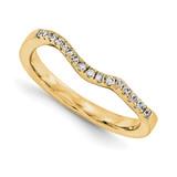 Wedding Diamond Bands 3 Stone Mounting Ring Anniversary 14k Yellow Gold Diamond, MPN: YM882-1AA