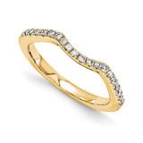 Halo Wedding Set Mounting Ring Band Prong Set Round 14k Yellow Gold Diamond, MPN: YM886-1AA