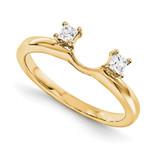 Engagement Ring Guard Wrap 14k Yellow Gold Diamond, MPN: YM887-1AA