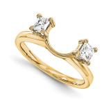 Engagement Ring Guard Wrap 14k Yellow Gold Diamond, MPN: YM889-1AA