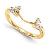 Engagement Ring Guard Wrap 14k Yellow Gold Diamond, MPN: YM894-1AA