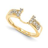 Engagement Ring Guard Wrap 14k Yellow Gold Diamond, MPN: YM895-1AA