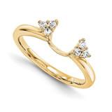 Engagement Ring Guard Wrap 14k Yellow Gold Diamond, MPN: YM896-1AA