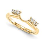 Engagement Ring Guard Wrap 14k Yellow Gold Diamond, MPN: YM913-1AA