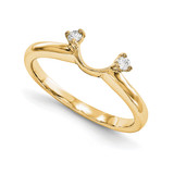 Engagement Ring Guard Wrap 14k Yellow Gold Diamond, MPN: YM914-1AA